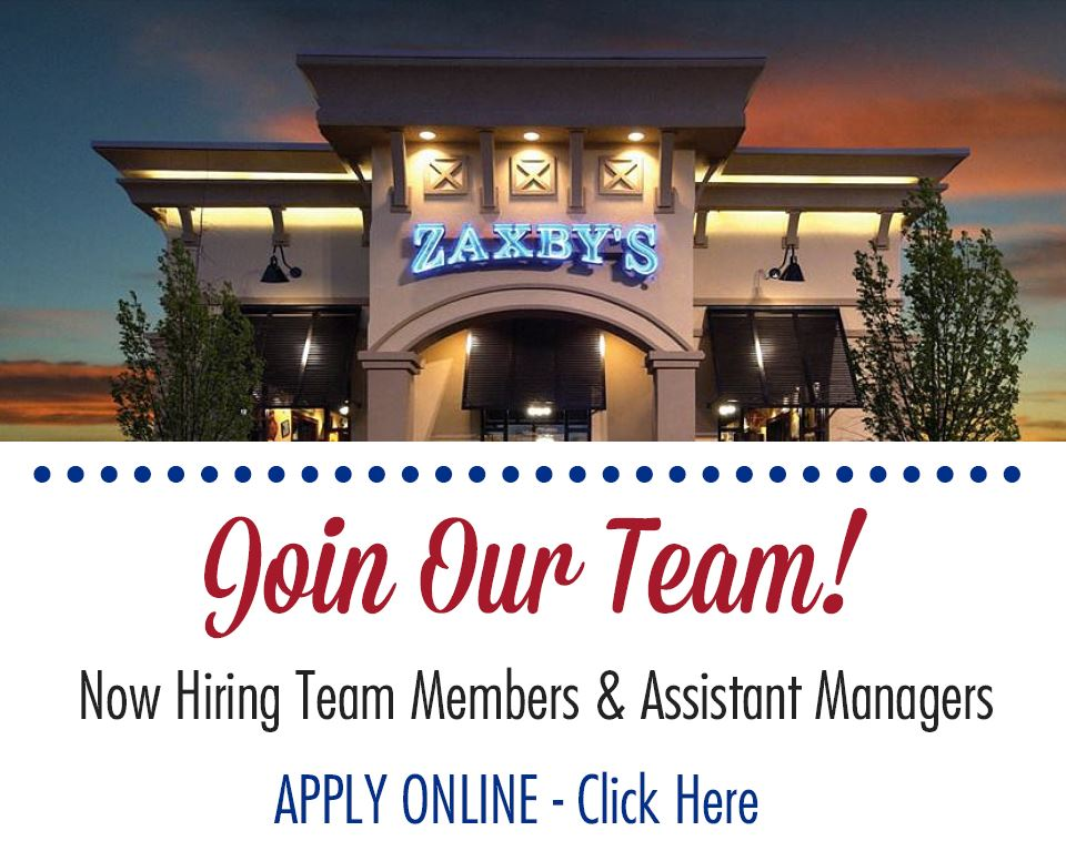 Zaxby's – Union Ave is Hiring | Job & Career News from the Memphis ...