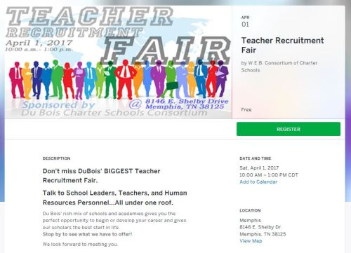 Dubois Teach Fair 4-1