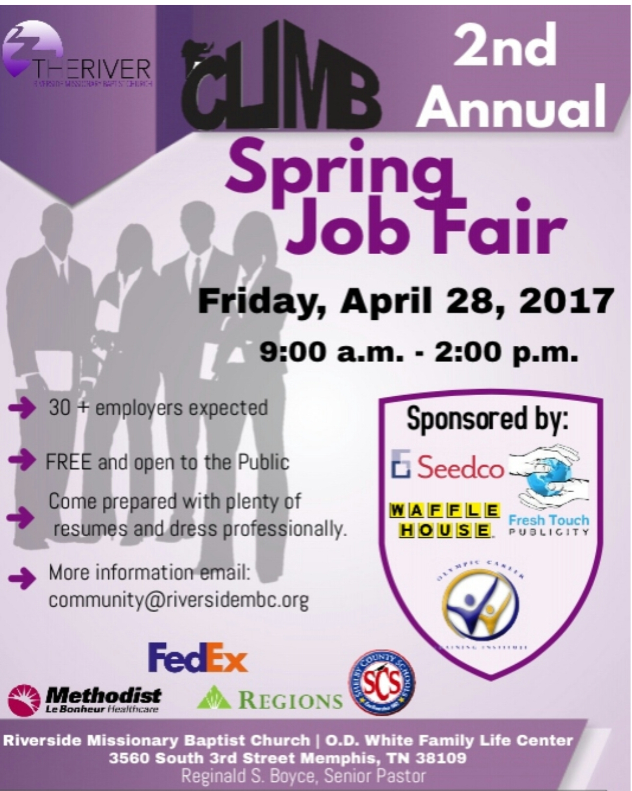 climb job fair   riverside baptist 4  28  17