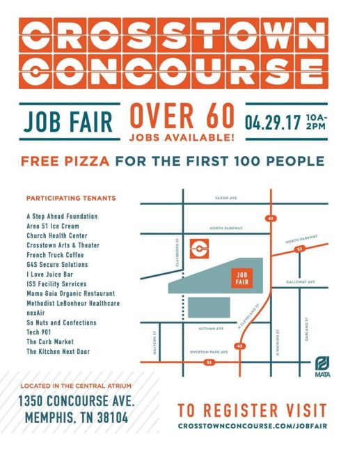 Crosstown job fair