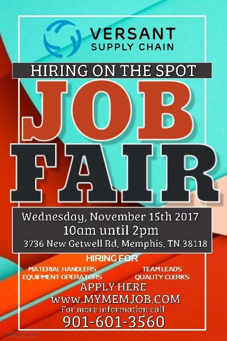 Nov Job Fair