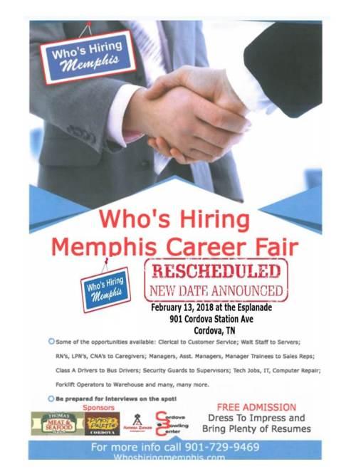 whos hiring feb 18