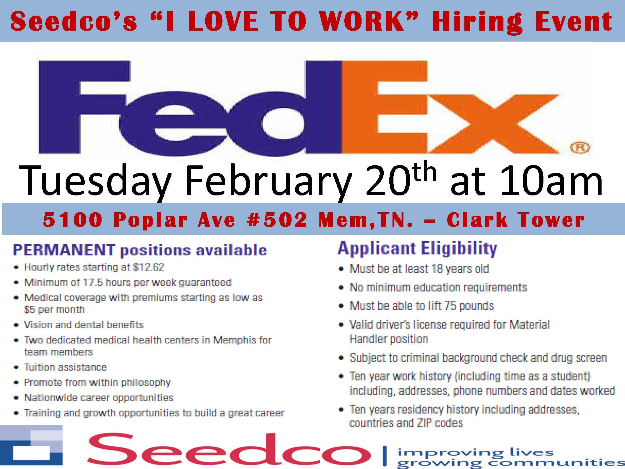 2.20..10am FEDEX  Fedex Careers