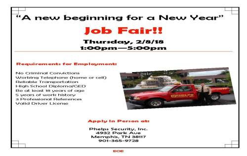 Phelps Job Fair 2-8