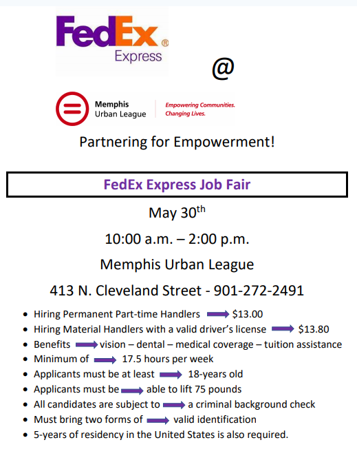 fedex urban league 530