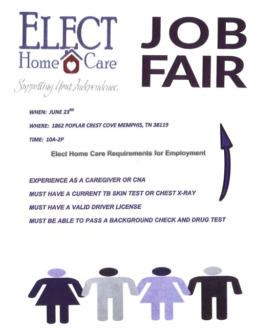 Job Fair Flyer elect