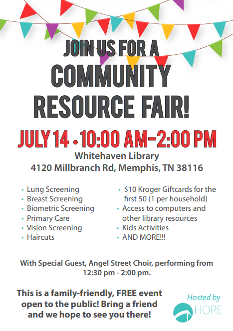 community fair whitehaven