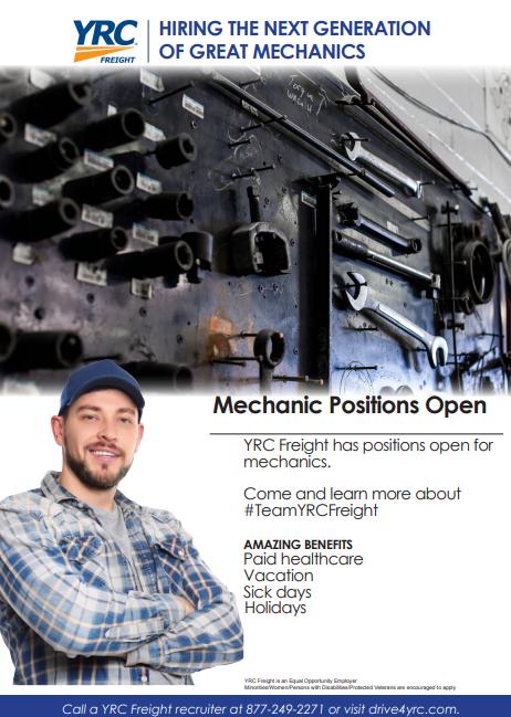 yrc mechanic