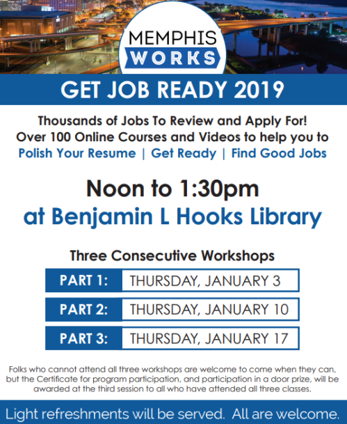 Job Career News From The Memphis Public Libraries Page 3