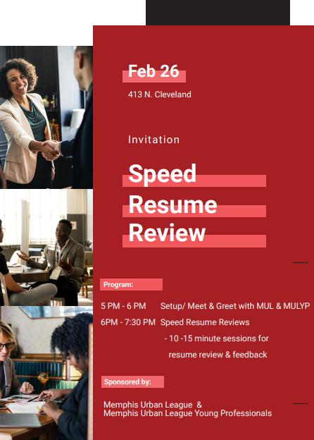 speed resume review   memphis urban league 2  26
