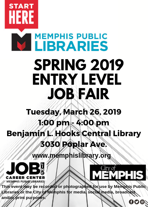JobLINC | Job & Career News from the Memphis Public Libraries