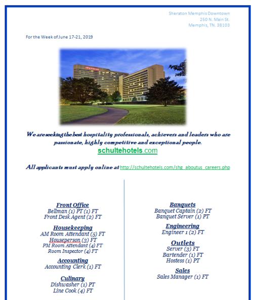 Job Listings | Job & Career News from the Memphis Public