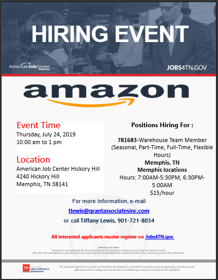 Event Jobs At Amazon