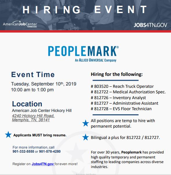 Job Fairs | Job & Career News from the Memphis Public Libraries