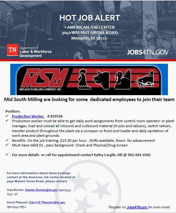 hot job alert
